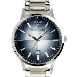 Đồng hồ nam Armani 3 kim trắng